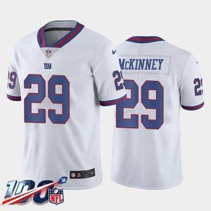 New York Giants Xavier McKinney White Rush Jersey